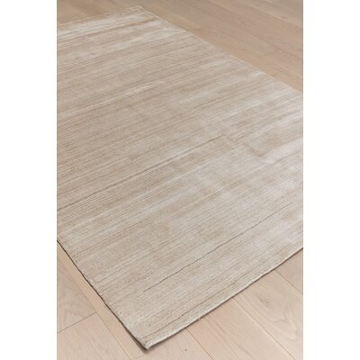 Fernandez Hand Woven Beige Area Rug Rug Size: Rectangle 5 x 8