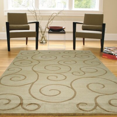 Mystic Vines Hand-Knotted Natural Area Rug