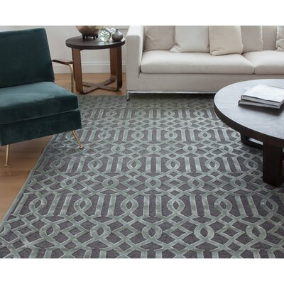 Cedar Grey/Silver Area Rug Rug Size: 710 x 112