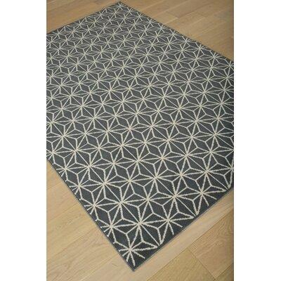 Kohala Gray/Ivory Geometric Area Rug