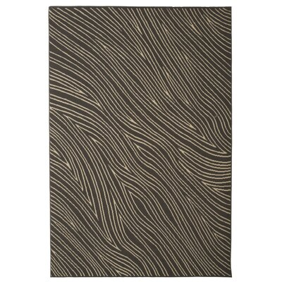 Walgett Shire Waves Gray/Ivory Area Rug Rug Size: 5 x 8