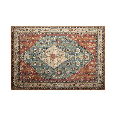 Beecroft Machine Woven Orange Area Rug Rug Size: 710 x 112