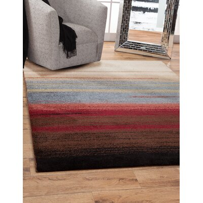 Shurtz Beige/Blue/Red Area Rug Rug Size: Rectangle 5 x 8