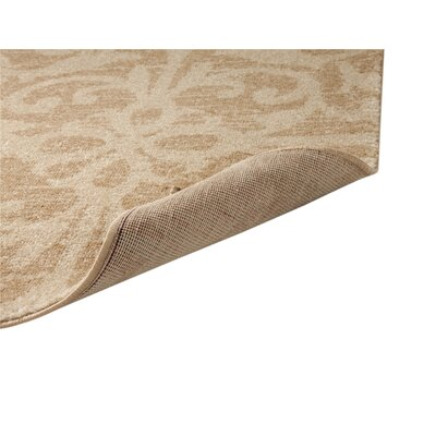 Burswood Beige/Red Area Rug Rug Size: Rectangle 8 x 10