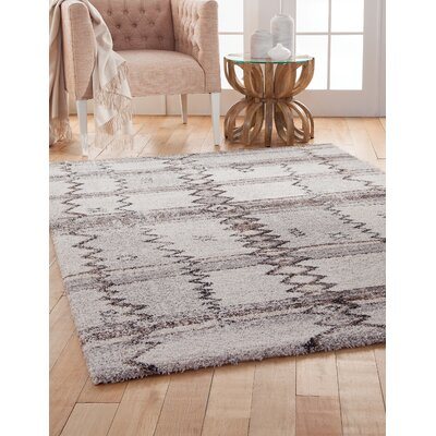 Adamsburg Brown/Gray Area Rug Rug Size: Rectangle 5 x 8