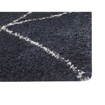 Tefft Blue/Ivory Indoor/Outdoor Area Rug Rug Size: Rectangle 5 x 8