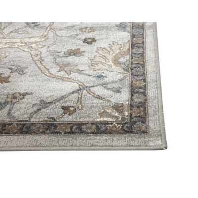 Beecroft Machine Woven Synthetic Beige/Brown Indoor Area Rug Rug Size: Rectangle 5 x 8