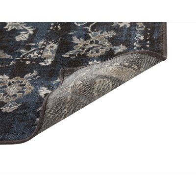 Beecroft Machine Woven Synthetic Blue/Natural Indoor Area Rug Rug Size: Rectangle 5 x 8