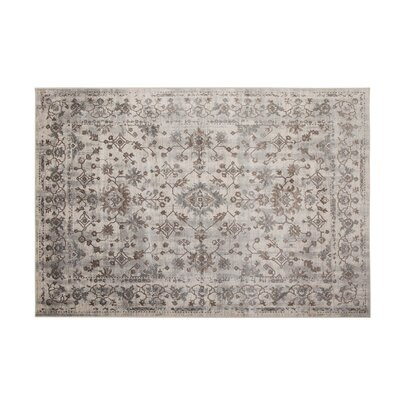 Beecroft Machine Woven Synthetic Brown/Blue Indoor Area Rug Rug Size: Rectangle 5 x 8