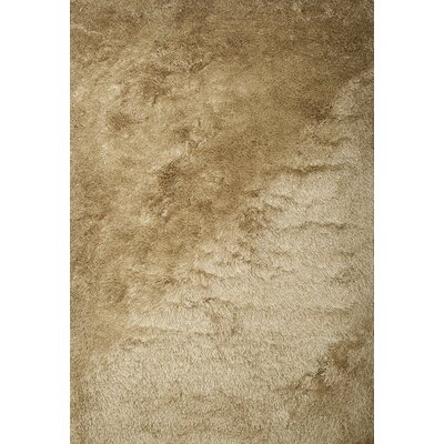 Yan Hand-Woven Polyester Beige Indoor Area Rug Rug Size: Rectangle 8 x 10