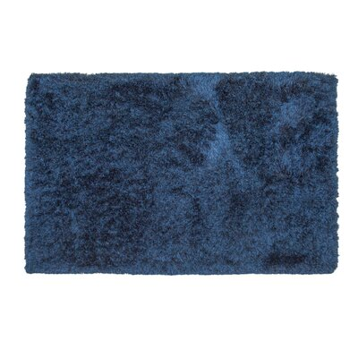 Yan Hand-Woven Polyester Blue Indoor Area Rug Rug Size: Rectangle 5 x 8