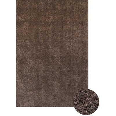 Lionel Chocolate Area Rug Rug Size: 7'9