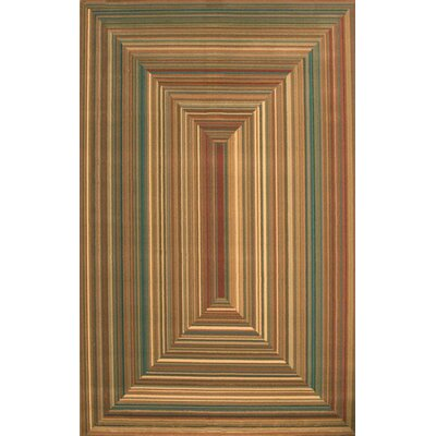 Lipan Illusion Area Rug Rug Size: 5'3