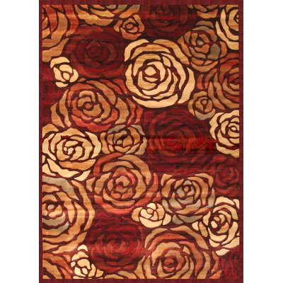 Honore Area Rug Rug Size: 53 x 76