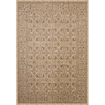 Sonoma Surry Tan Area Rug Rug Size: Rectangle 79 x 108