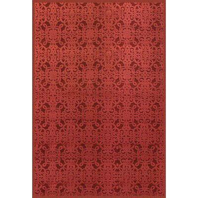 Boulters Red Area Rug Rug Size: 7'10