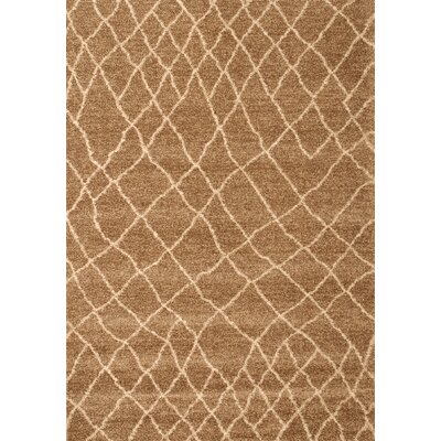 Haverstraw Brown/Ivory Area Rug Rug Size: 710 x 112