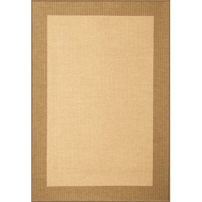 Marva Brown/Natural Area Rug Rug Size: Rectangle 53 x 76