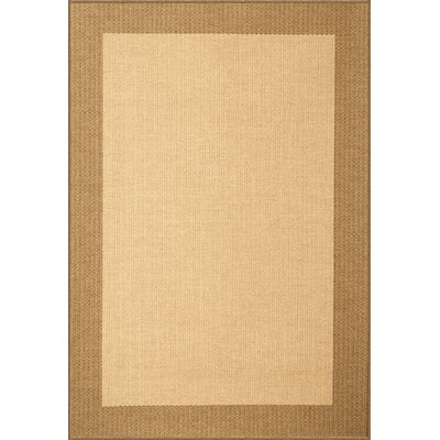 Marva Brown/Natural Area Rug Rug Size: Rectangle 79 x 108