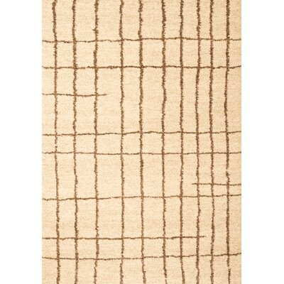 Granada Plaza Ivory Area Rug Rug Size: Rectangle 79 x 108