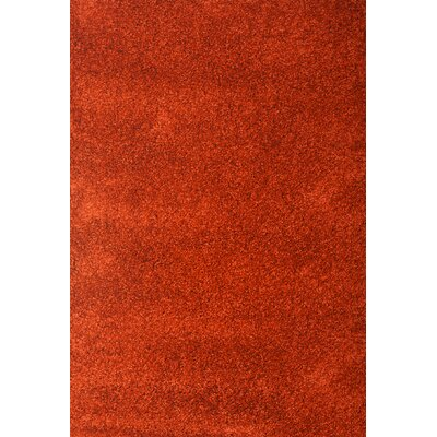 Lionel Rust Area Rug Rug Size: 53 x 76