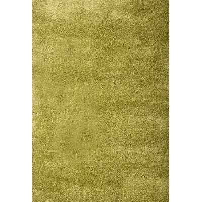 Lionel Apple Green Area Rug Rug Size: 53 x 76