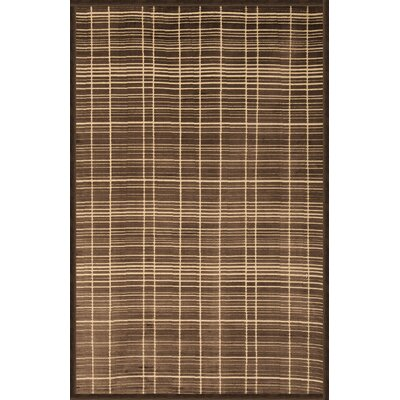 Teague Chocolate/Ivory Area Rug Rug Size: 710 x 112