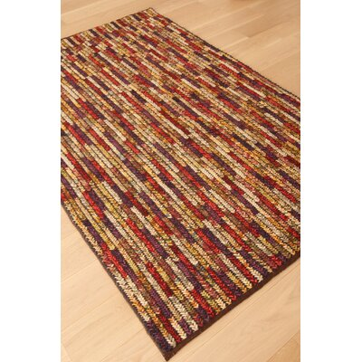Ewing Hand Woven Wool Vineyard/Red Area Rug Rug Size: Rectangle 5 x 8
