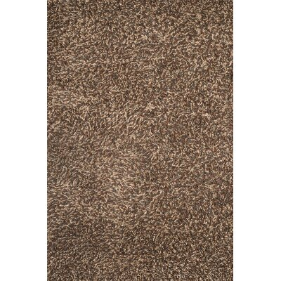 Textures Lifestyle Hand Tufted Wool Tan Area Rug Rug Size: 5