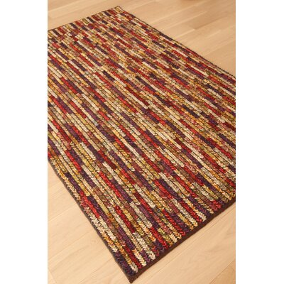 Ewing Hand Woven Wool Vineyard/Red Area Rug Rug Size: Rectangle 8 x 10