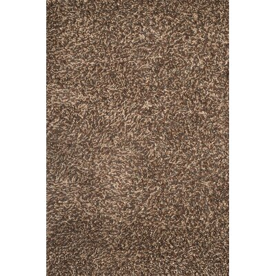 Textures Lifestyle Hand Tufted Wool Tan Area Rug Rug Size: 8 x 10