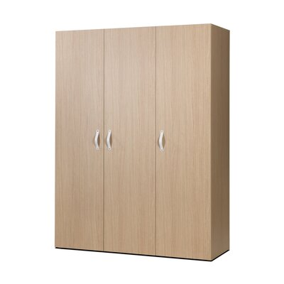 3 Door Armoire Finish Essential Oak Light