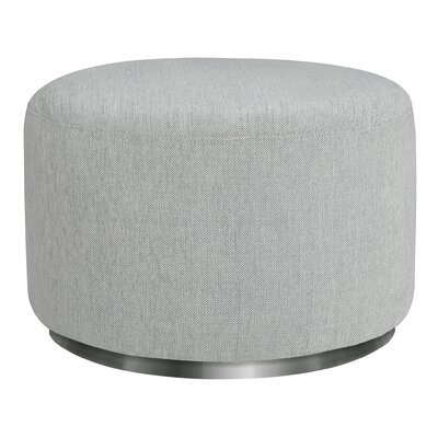 Tuba Ottoman Upholstery: Winter Gray