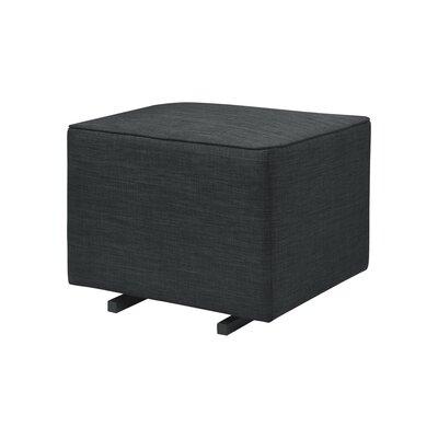 Kiwi Gliding Cube Ottoman Upholstery: Coal Gray