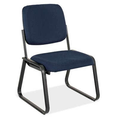 Value Sled Base Guest Chair Seat Color: Royal Fabric, Arm: No