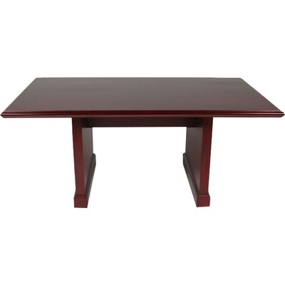Brunswick Rectangular Conference Table Size: 6 L
