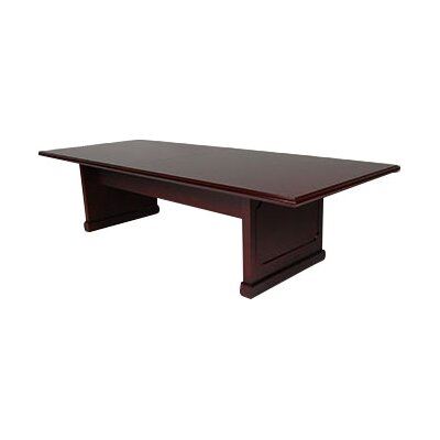 Brunswick Rectangular Conference Table Size: 10 L