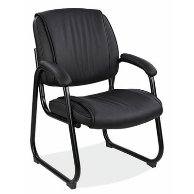 Ultima Sled Base Leather Guest Chair