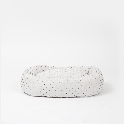 Snuggler Bed Bolster Size: Medium, Color: Cream