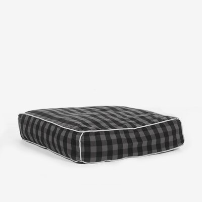 Buffalo Plaid Square Pillow Size: Large (35 L x 33 W)