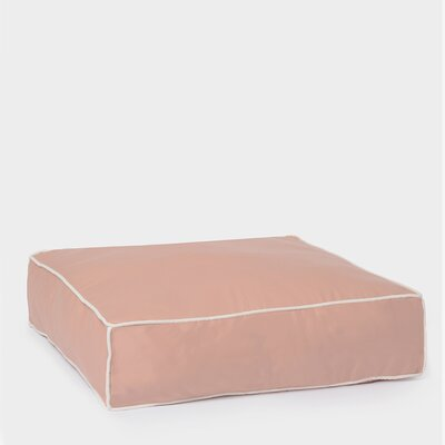 Benny Basic Square Dog Bed Size: Small, Color: Rose