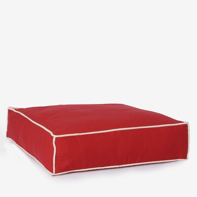 Benny Basic Square Dog Bed Size: Medium, Color: Cherry Red