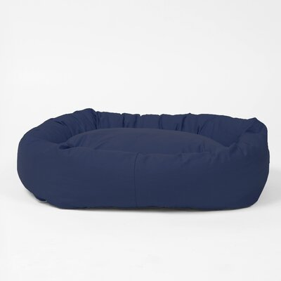 Benny Basic Snuggle Dog Bed Size: Large, Color: Indigo Blue
