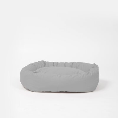Snuggler Bed Bolster Size: Medium, Color: Light Gray