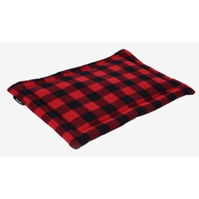 Dog Mat Color: Red, Size: Small
