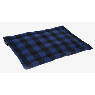Dog Mat Size: Large, Color: Indigo