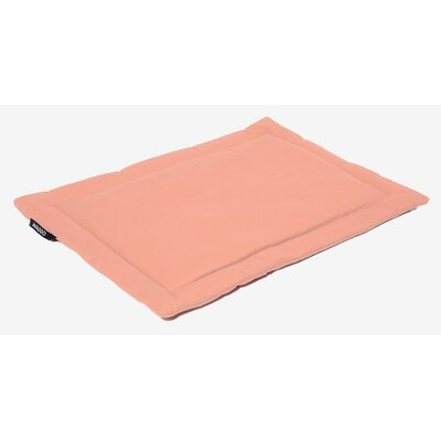 Dog Mat Size: Small (19.75 W x 26 L), Color: Rose