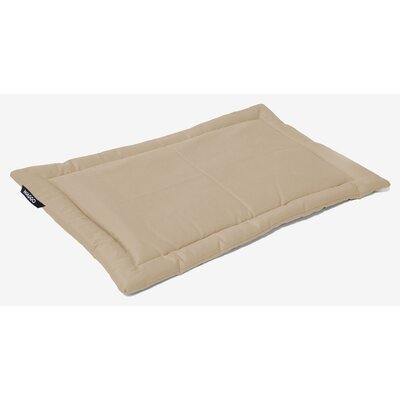 Dog Mat Size: Large (26 W x 35 L), Color: Khaki