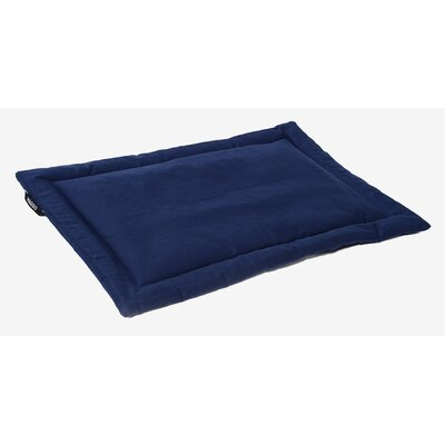 Dog Mat Size: Small (19.75 W x 26 L), Color: Indigo