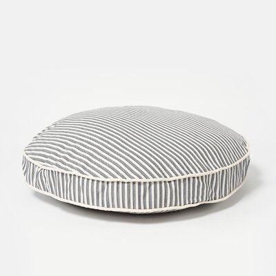Sweater Stripe Circle Dog Bed Size: Medium